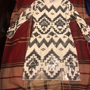 Express Aztec dress